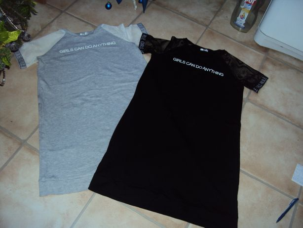 Sukienka tunika bluzka nowe dwie za 30 zł 164 s
