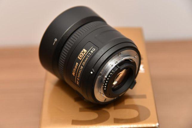 Obiektyw Nikon Nikkor AF-S 35mm F/1.8G DX Nikon F - NOWY