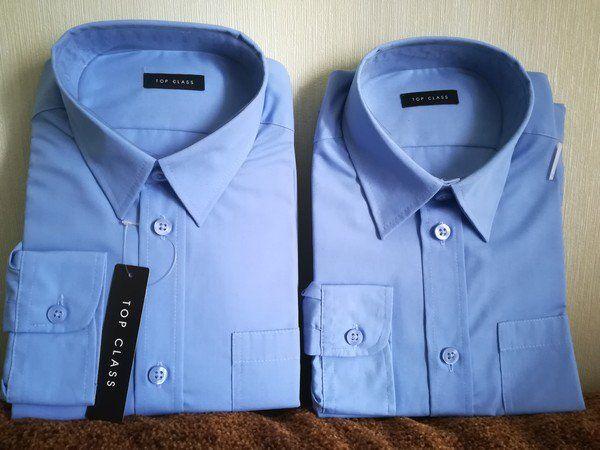 Рубашка для парня. Top Class. Одна из набора. 9-10 лет и 11-12 лет.