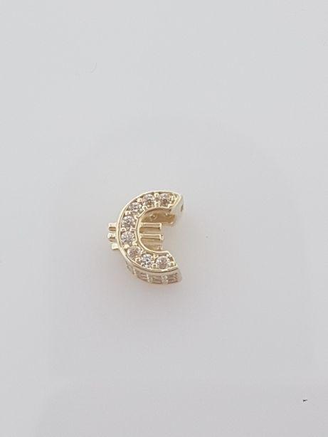 Złoty element charms na bransoletkę Pandora 14k.Nowy[020]