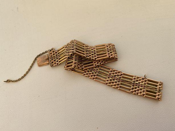 Старинный золотой браслет 56 пробы