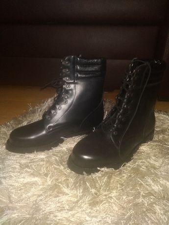 Buty wojskowe skórzane nowe - desanty ARMEX