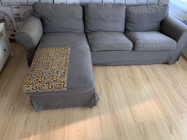 Sofa 3-osobowa z szezlongiem EKTORP IKEA