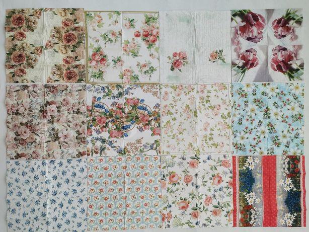 Serwetki do Decoupage, różne wzory, hobby, rękodzieło