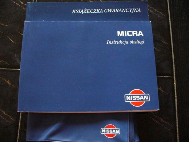 Książka instrukcja obsługi PL NISSAN MICRA
