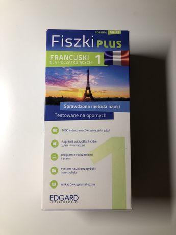 Fiszki plus Francuski poziom A0 A1 nauka dla początkujących