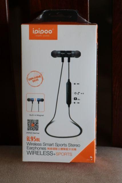 NOWE słuchawki bezprzewodowe bluetooth Ipipoo iL95bl