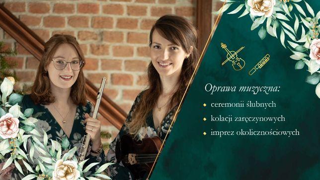 Oprawa muzyczna ślubu | Flet i skrzypce