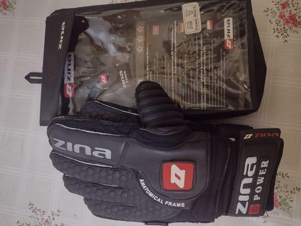 Rękawice bramkarskie Zina Power black