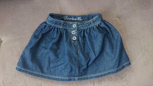 Spódniczka jeansowa 4-5 lat