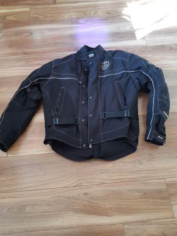 Odzież motocyklowa  tekstylna na motocykl lub kład.
