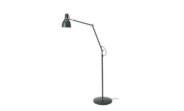 Lampa podłogowa ARÖD IKEA ciemna zieleń (antracyt)