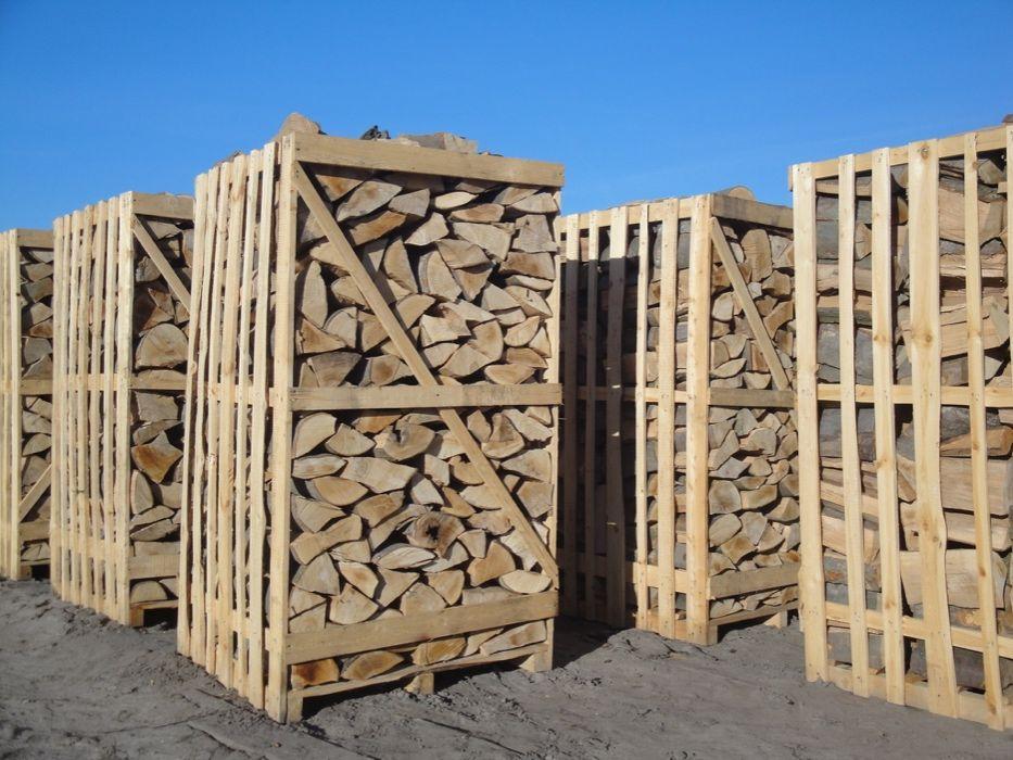 Promocja !!! Drewno sezonowane kominkowe i opałowe. Buk Dąb Brzoza G