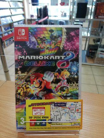SWITCH Mario Kart 8 Deluxe Nowa Nintendo Switch Super Mario
