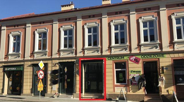 Lokal handlowy 55m2 parter (opcja poszerzenia), ścisłe centrum Łańcut