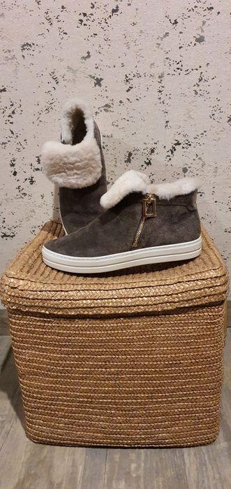 Тёплые замшевые ботинки RV Харьков - изображение 1