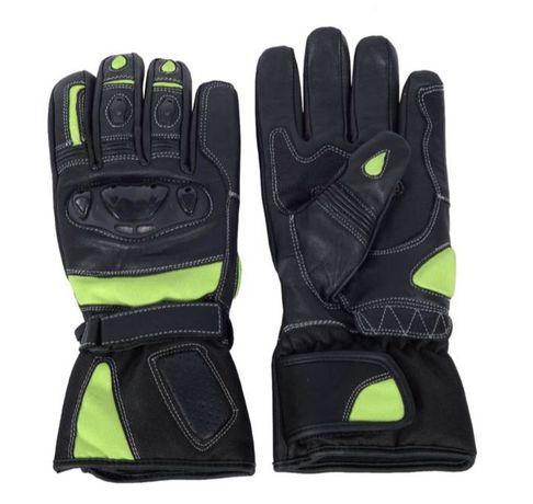 Rękawice skórzane motocyklowe roz. S,M,L,XL i XXL.