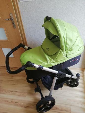 Uniwersalny wózek dziecięcy 3w1 Bebetto Nico Plus + GRATIS