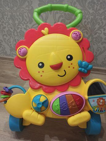 Каталка-ходунки музыкальная для малышей!