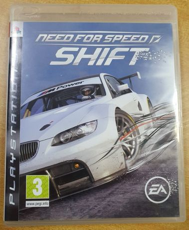 Jogo para Play Station 3, NEED FOR SPEED - SHIFT, completo, como novo!