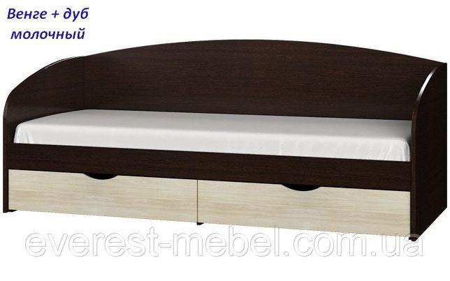Кровать с выдвижными ящиками Комфорт. Доставка по городу 220 грн.