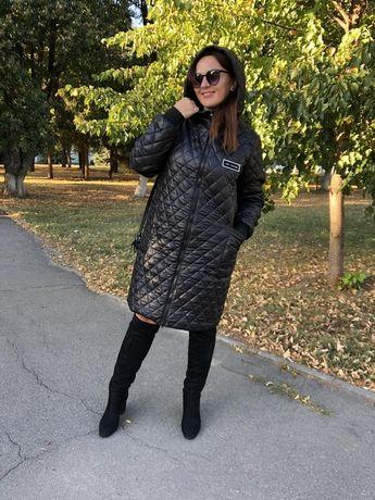 Синтепоное стёганное пальто
