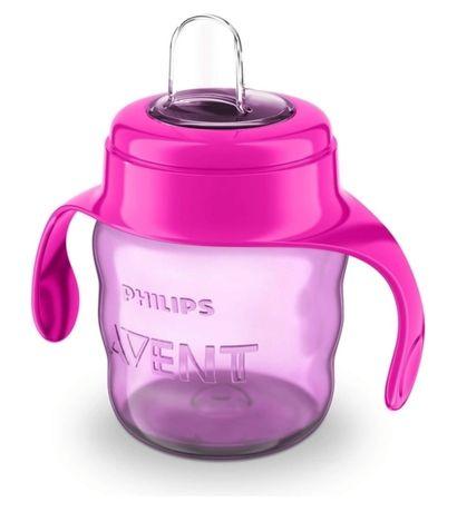 Чашка-непроливайка розовая - Philips Avent