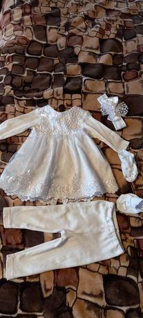 Платтячко для дівчинки на хрещення
