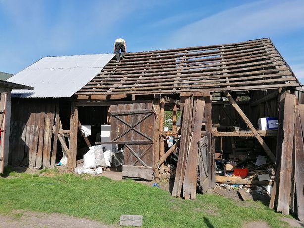 Skup starego drewna rozbiórka rozbiórki stodoły stare deski stodoła