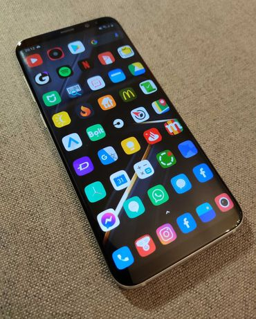 Samsung galaxy s8 plus + 4/64 +Ład. indukcyjna + 5xCase + TransmiterFM