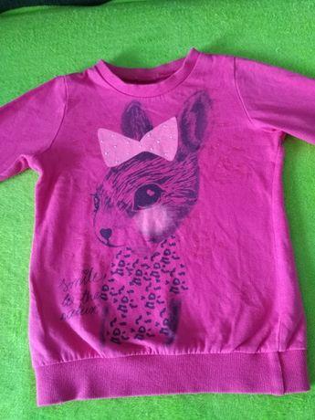 Bluzeczka różowa 98 110