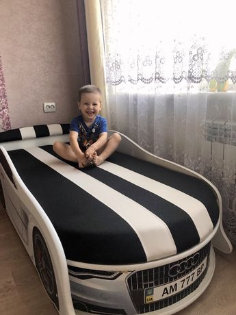Кровать машинка для ребёнка.БЕСПЛАТНО доставка по Украине!