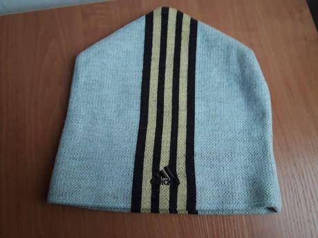 Винтажная шапка- петушок ADIDAS/ TNF (оригинал) 56-58 разм