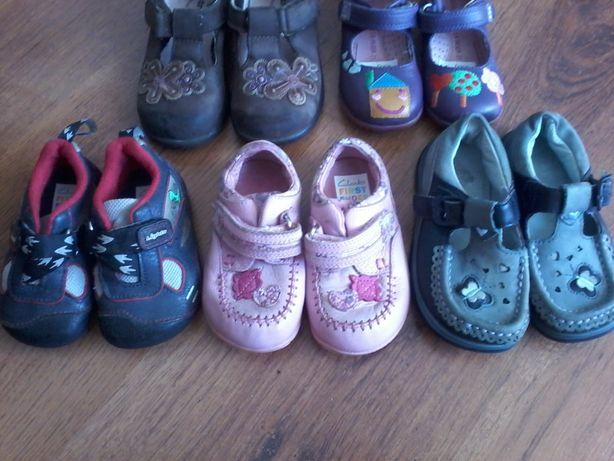Кожанные туфельки, размер 19-22,5