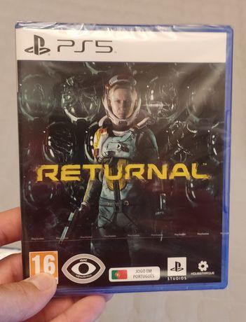 Returnal PS5 Novo e selado
