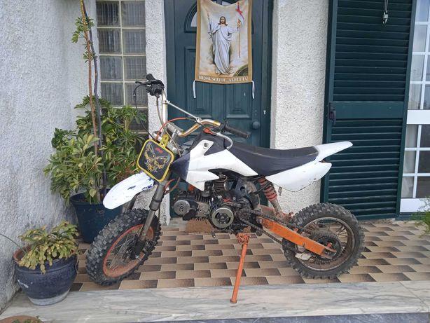 Pit bike 125ccc troco