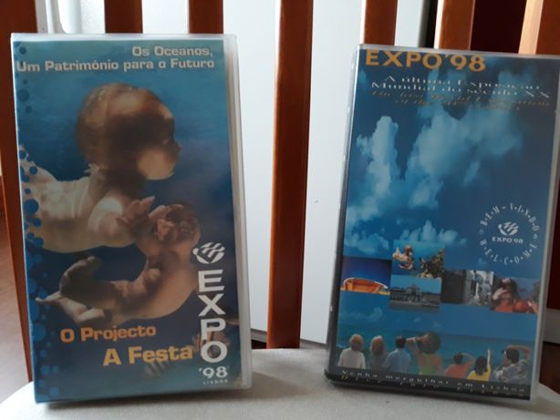 Expo 98. Cassetes video VHS