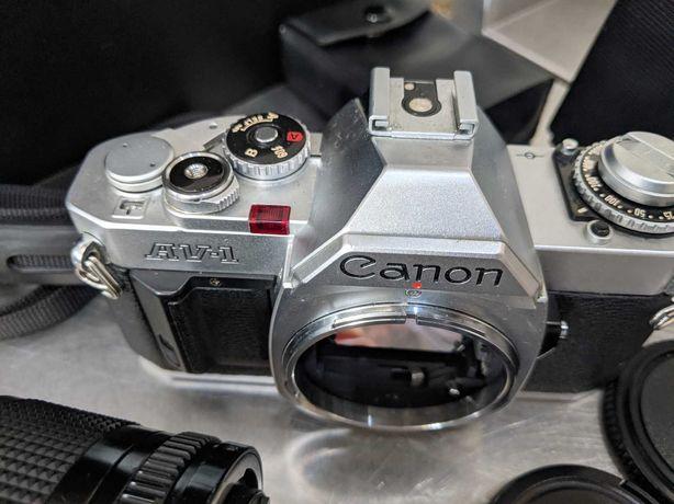 Canon AV-1 - Máquina analógica