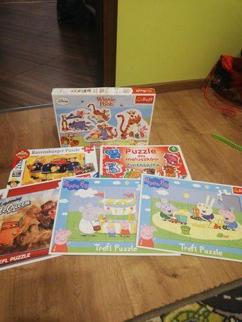 Puzzle dla najmłodszych dzieci
