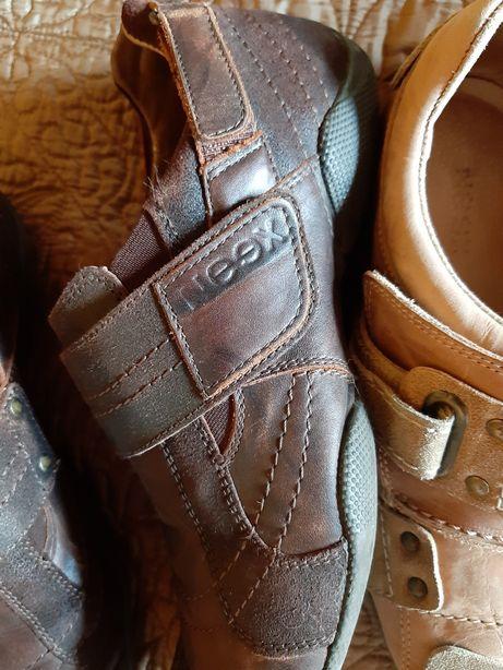 Buty półbuty skórzane r. 40