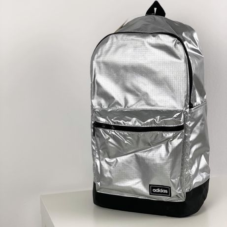 Рюкзак Adidas Originals новый с бирками портфель серебристый