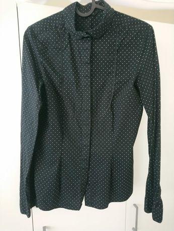 Koszula czarna taliowana Esmara rozmiar S