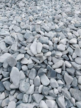 Włoski otoczak, kamienie Ice Blue. Dostawca hurt-detal Kamień ogrodowy