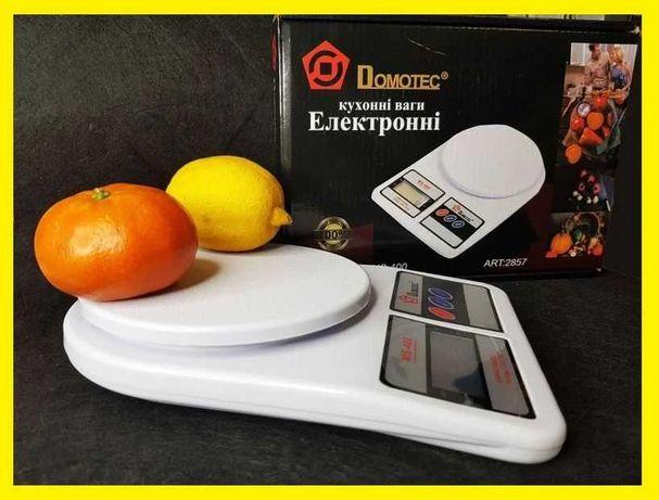 Кухонные весы. электронные ваги кухонні. MS 400 Domotec
