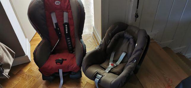 Fotelik x 2 dla niemowlaka i dziecka