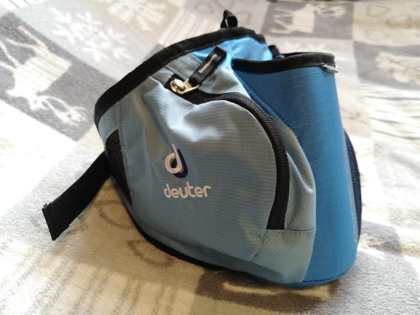 Deuter Pulse 2 (hip belt) - pas biodrowy na bidon, niemiecki producent