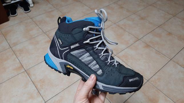 37р,стелька24см,Трекинговые кожаные кроссовки,ботинки Meindl (Мейндл)