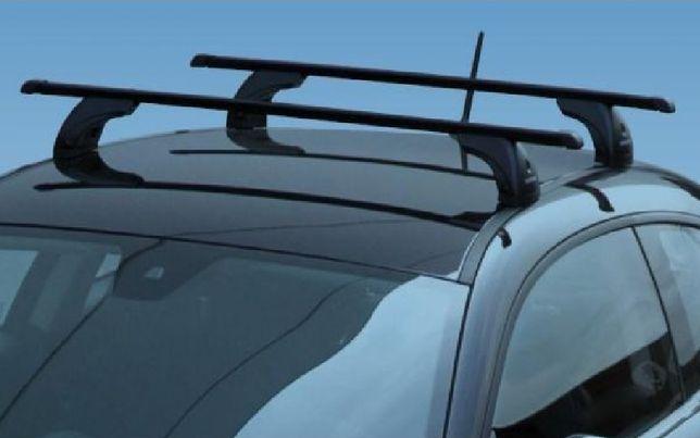 Kompletny bagażnik dachowy stalowy, Nordrive 120cm max 100kg