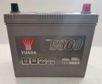 Akumulator YUASA YBX5053 50Ah 450A + GRATIS! NAJNIŻSZA cena