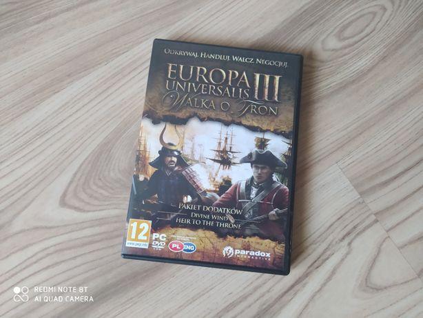 Europa Universalis III - pakiet dodatków (Walka o tron)